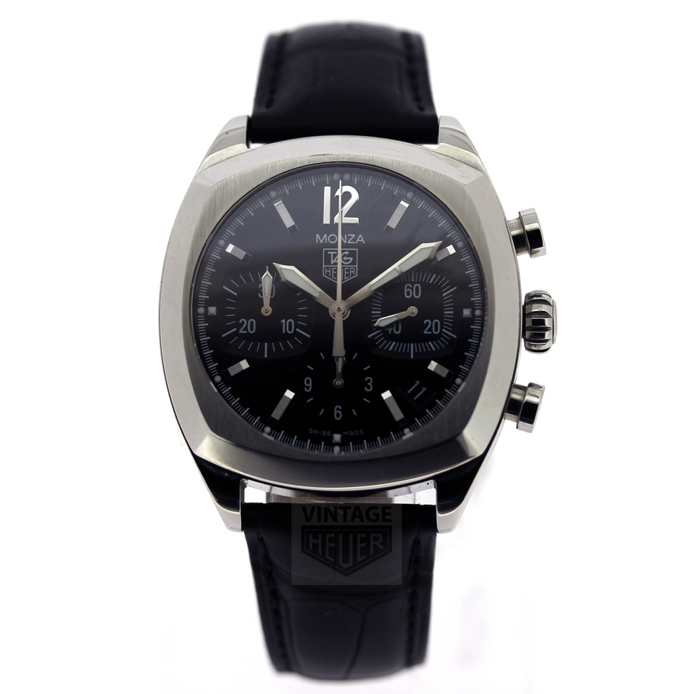 TAG Heuer MONZA Re Issue Black Dial CR2113.FC6164