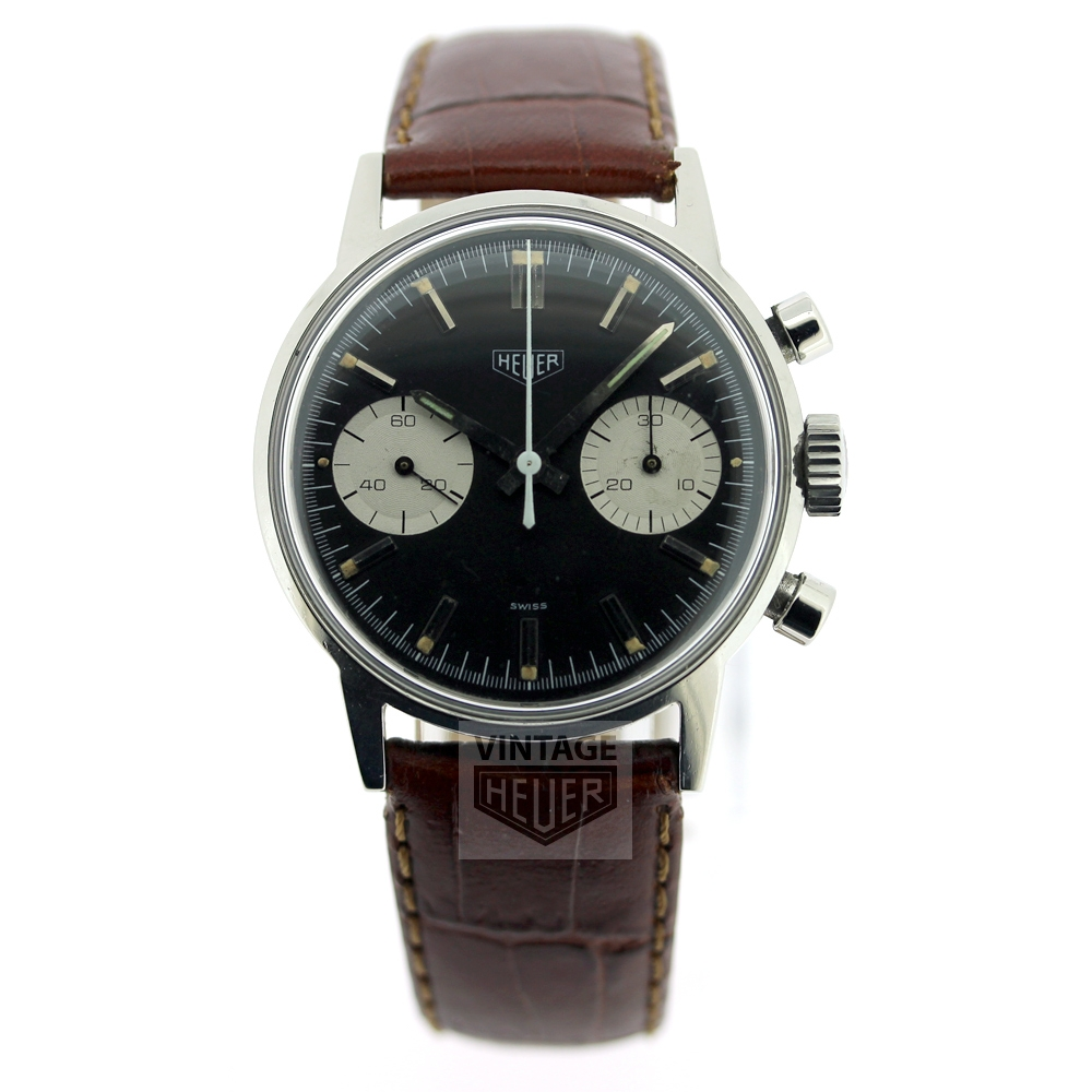 HEUER Black Dial Chrono