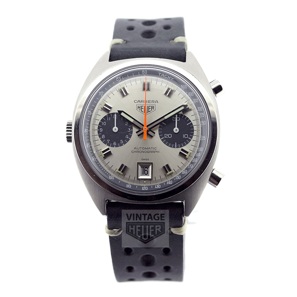 HEUER Carrera silver dial automatic chronograph