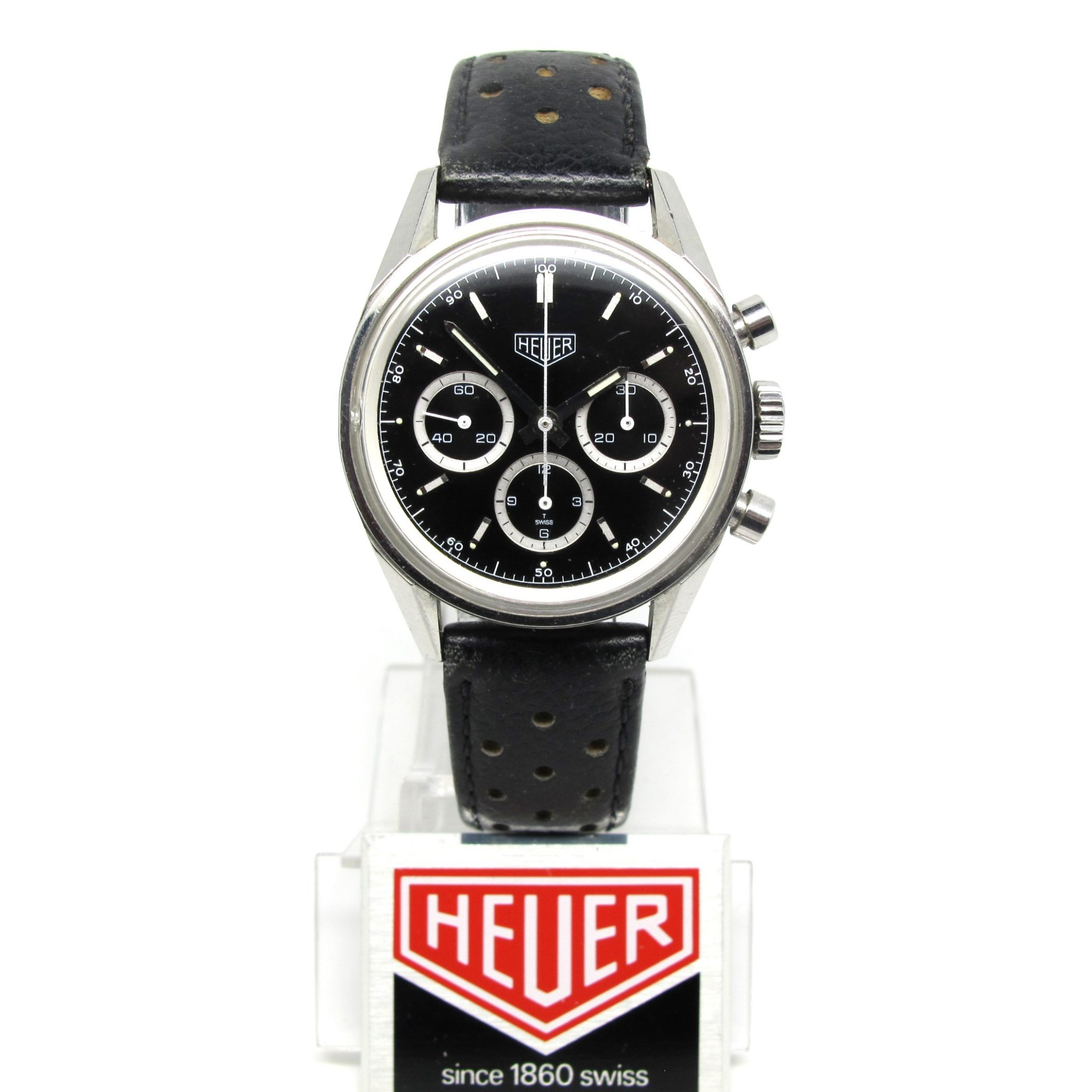"Heuer Carrera ""white rings"