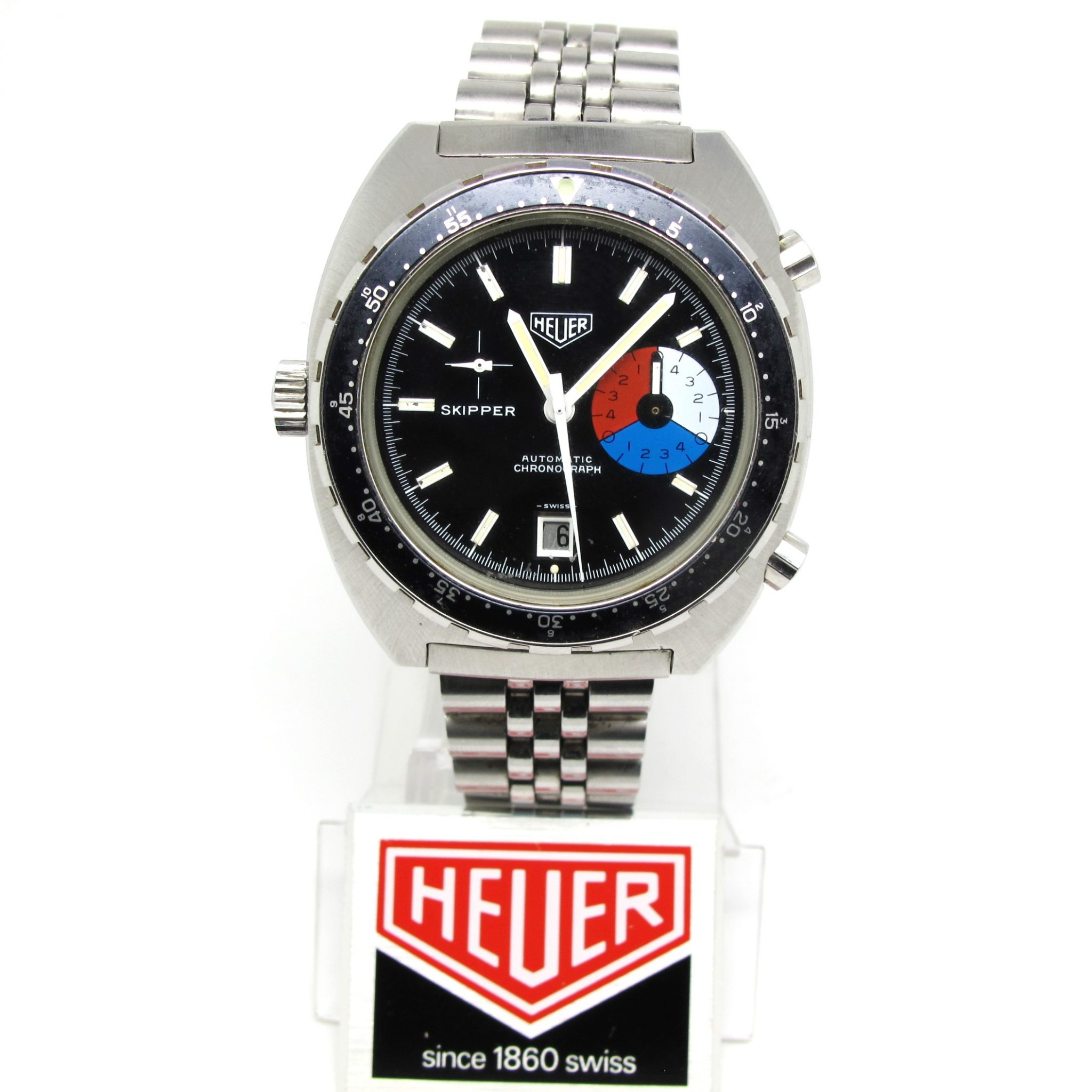 Heuer Skipper final execution