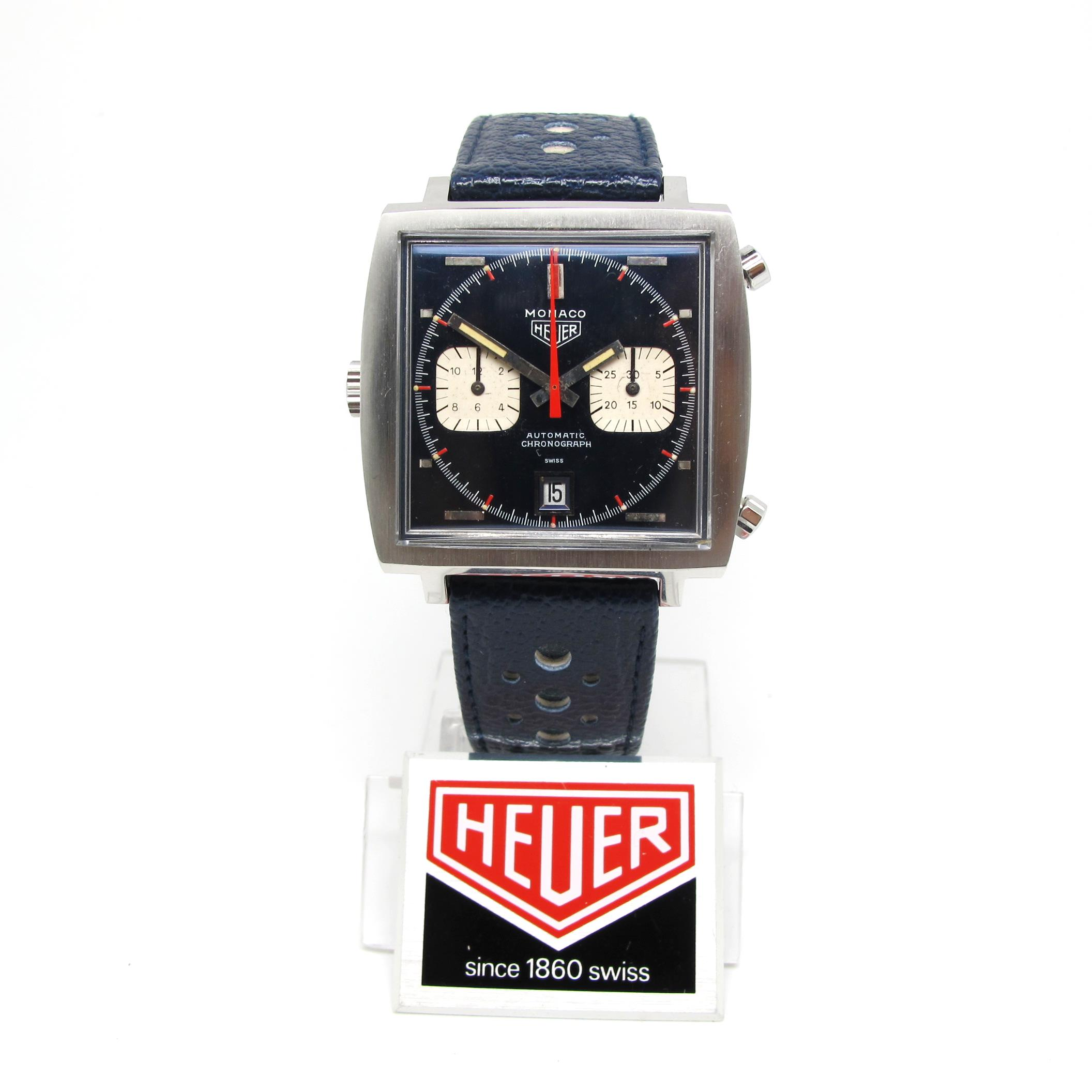 "Original Heuer Monaco ""Transitional"""